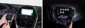 2016 Chevrolet Cruze Apple CarPlay and Spark Android Auto