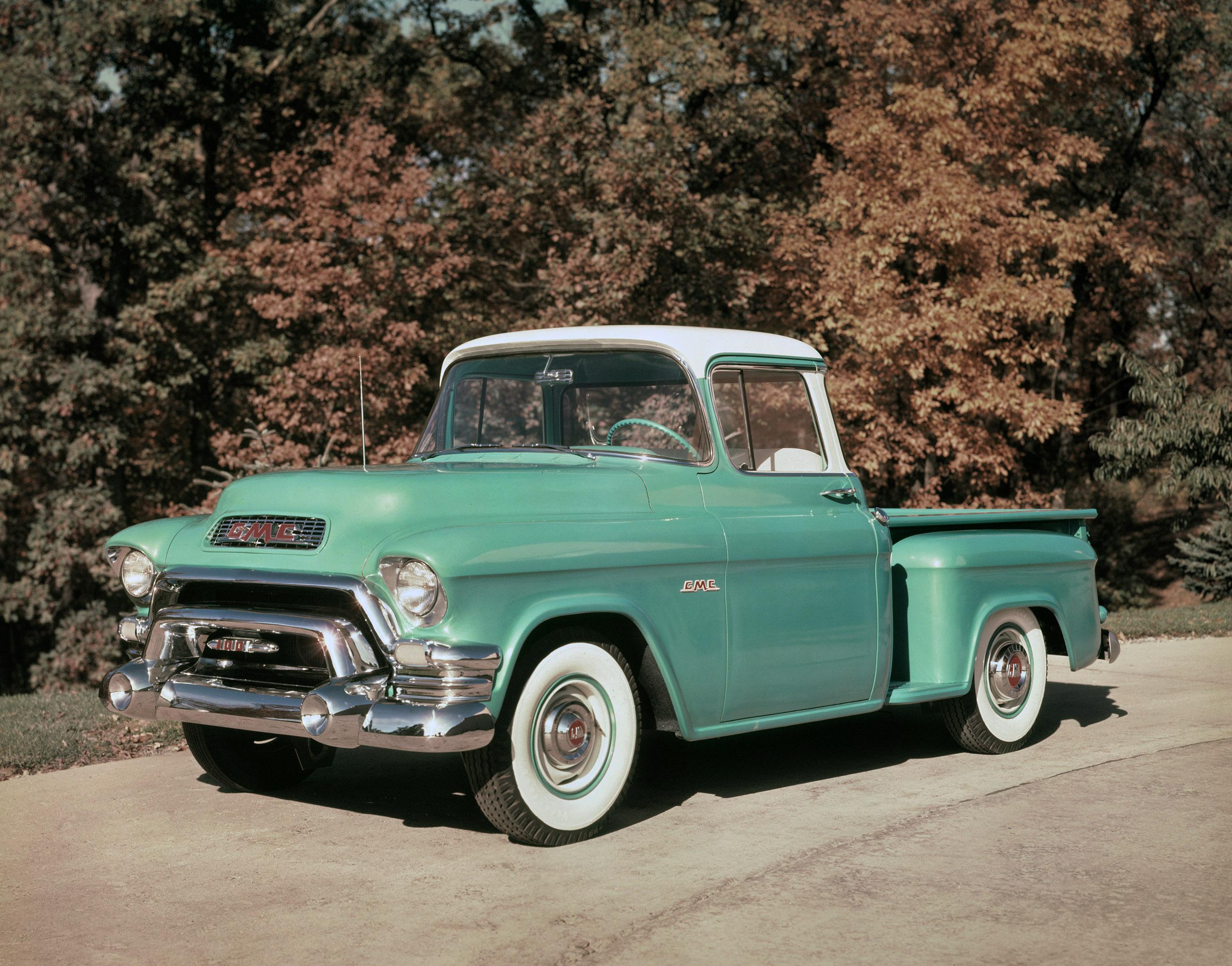 New Sierra Marks 111 Years Of Gmc Pickup Heritage 1958 Chevy Wiring Diagram